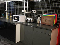 Shared Kitchen at Journeys Kings Cross for guests to use