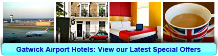 Gatwick Airport Hotels: Book from only £17.25 per person!