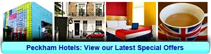 Peckham Hotels: Book from only £15.50 per person!