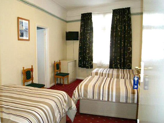 Quad rooms at Stanley House Hotel are the ideal choice for groups of friends or families
