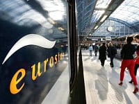 Eurostar at St Pancras - a 5 minute walk from the Northumberland Hotel