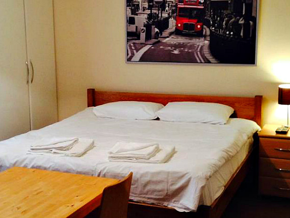 Get a good night's sleep in your comfortable room at Earls Court Studios