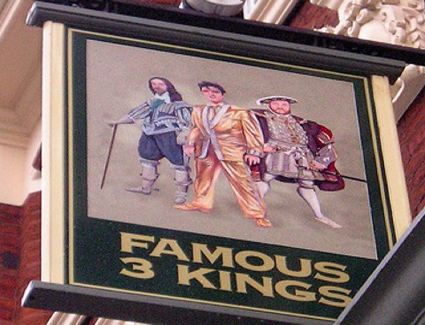 Reservar un hotel cerca de Famous Three Kings Pub