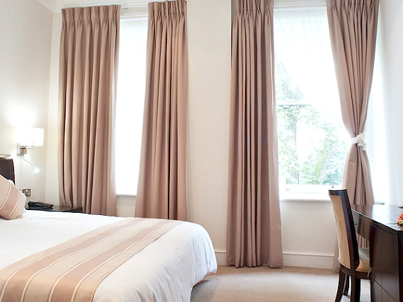 A double room at Abcone Hotel London is perfect for a couple
