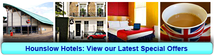 Hounslow Hotels: Book from only £11.67 per person!
