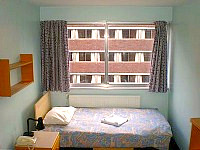 A typical Single room at Finsbury Residence London