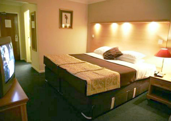 A typical room at Osterley Park Hotel