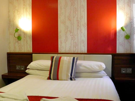 A double room at California Hotel London is perfect for a couple