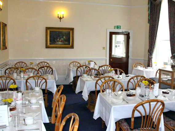 A place to eat at Royal Norfolk Hotel