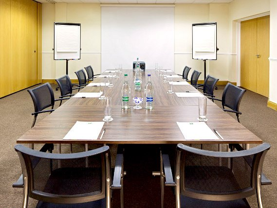 Business guests will appreciate the conference room