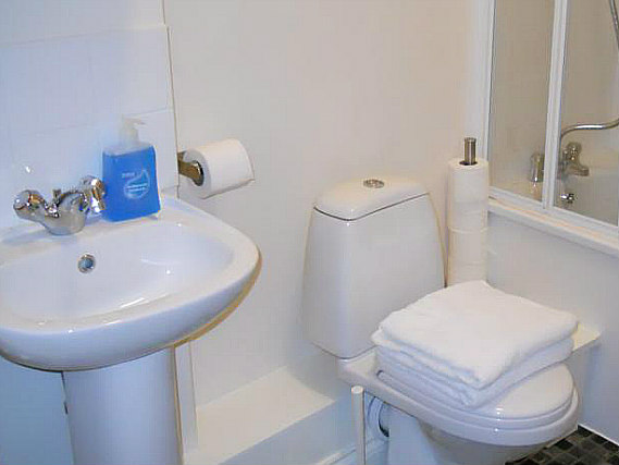 Le coin salle de bains de City Stay Hotel London