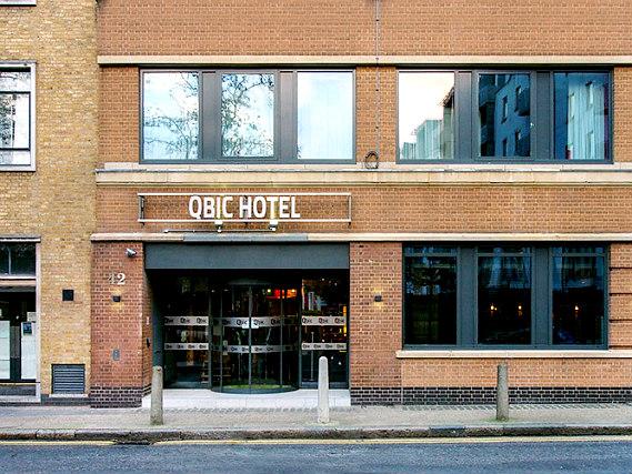 Qbic hotel london city london r servez sur for Qbic london
