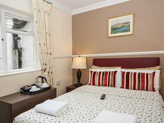 Get a good night's sleep in your comfortable room at Classic Hotel