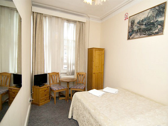 A double room at St Simeon Hotel is perfect for a couple