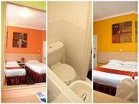 Bedrooms and bathrooms at Euro Lodge Clapham