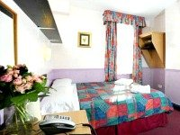 Double rooms are spacious and fresh