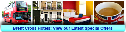 Brent Cross Hotels: Book from only £15.00 per person!