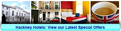 Hackney Hotels: Book from only £19.50 per person!