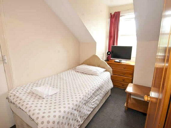 Single rooms at Stratford Hotel London provide privacy