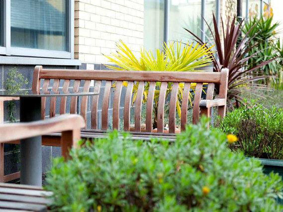 Relax in the garden at Manna Ash Rooms