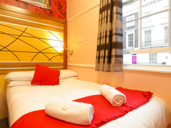 Chambre double de Vegas Hotel London