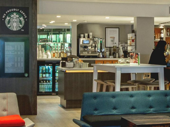 After a busy day, relax with a drink in the bar at Holiday Inn Camden Lock