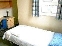 A typical Single room at Bankside House