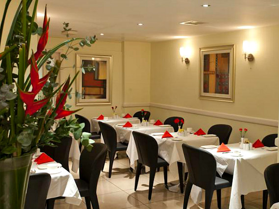 A place to eat at Best Western Paddington Court Suites