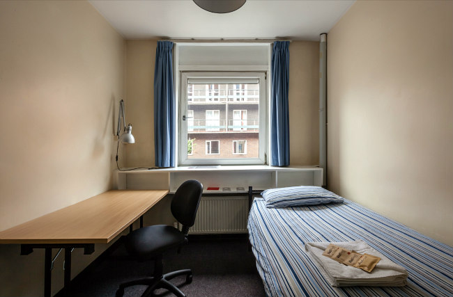 Une chambre simple à Carr-Saunders Hall