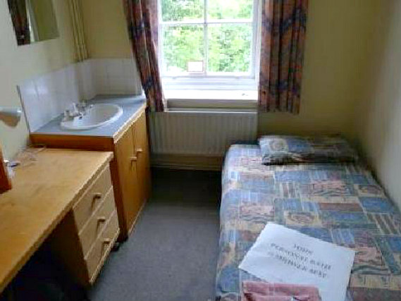 Single rooms at Furnival House provide privacy