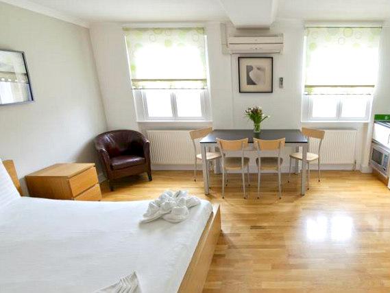 146 suites gloucester place london r servez sur for Aparthotel londres centre