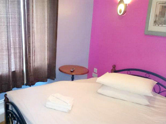 Chambre double de City View Hotel Stratford