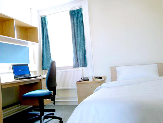 Single rooms at Northumberland House provide privacy