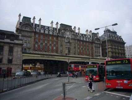 Book a hotel near Victoria Train Station