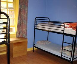 Cowgate Tourist Hostel dorms are clean and spacious