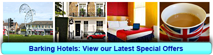 Barking Hotels: Book from only £13.00 per person!