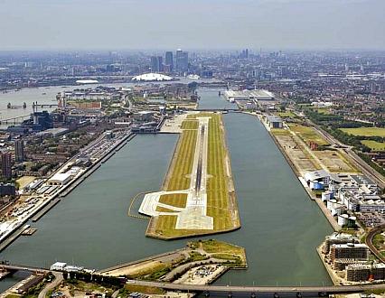 Distance Aeroport London City Centre Ville