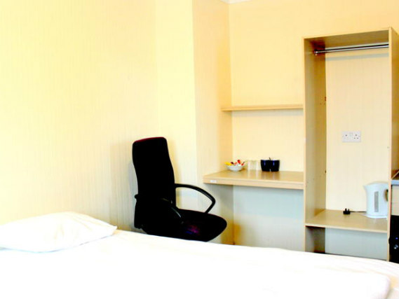 Une chambre à Heathrow Lodge