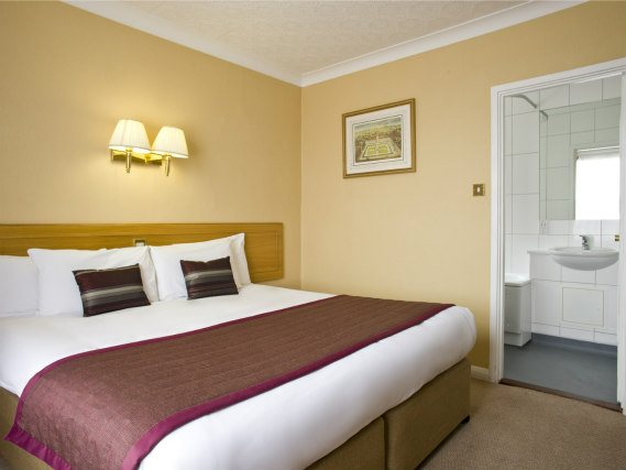 Chambre double de Best Western Burns Hotel