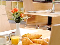 You can enjoy your complimentary breakfast in style and comfort