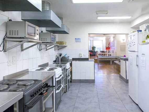Save even more money by preparing your own food in the self-catering kitchen at Astor Hyde Park