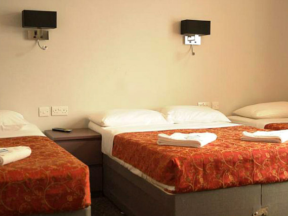 Quad rooms at Hotel Balkan are the ideal choice for groups of friends or families