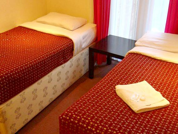 Triple rooms at Hotel Balkan are the ideal choice for groups of friends or families