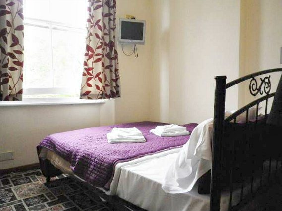 A double room at Hyde Park Court Hotel is perfect for a couple