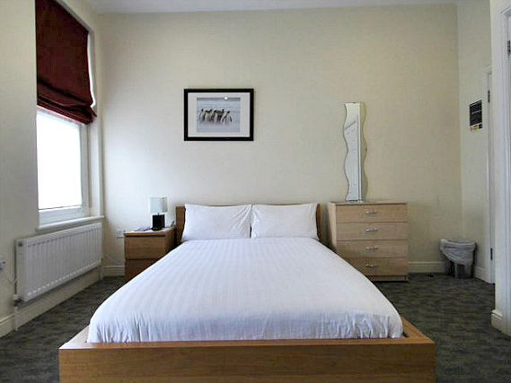 Get a good night's sleep in your comfortable room at Clapham Guest House
