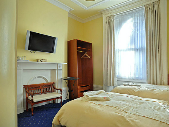 Twin rooms are spacious and fresh