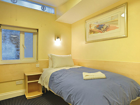 Single rooms at Jesmond Dene Hotel provide privacy