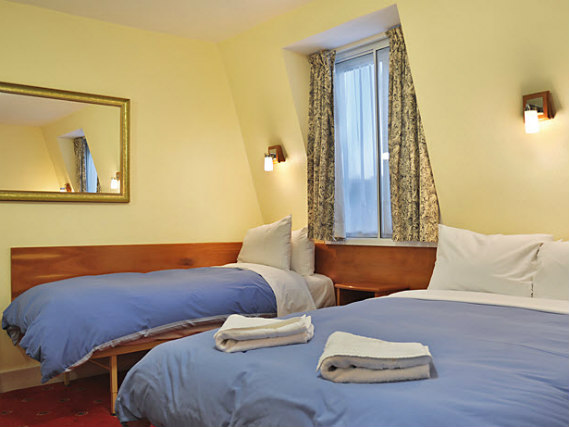 Triple rooms at Jesmond Dene Hotel are the ideal choice for groups of friends or families