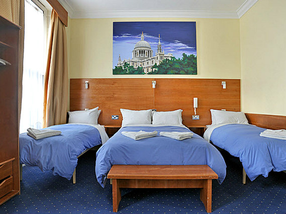 Quad rooms at Jesmond Dene Hotel are the ideal choice for groups of friends or families