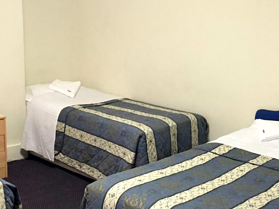 Quad rooms at Anwar House Hotel are the ideal choice for groups of friends or families